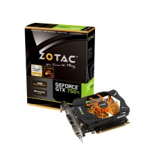 Placa de Video NVIDIA GeForce GTX 750 Ti 1 GB GDDR5 128 Bits Zotac ZT-70603-10M