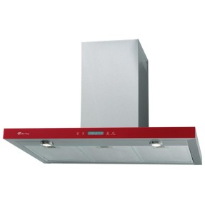 Coifa Parede Fischer 90 cm Tradition Line Rouge 90 Inox