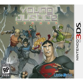 Jogo Young Justice: Legacy Majesco Entertainment Nintendo 3DS
