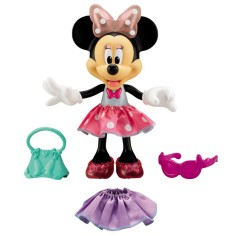 Boneca Disney Minnie Fashion Mattel