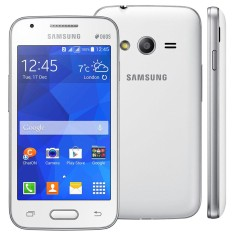 Smartphone Samsung Galaxy Ace 4 Duos 4GB G313M 5,0 MP 2 Chips Android 4.4 (Kit Kat) Wi-Fi 3G