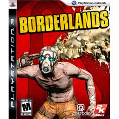 Jogo Borderlands PlayStation 3 2K
